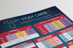 Yuris study cards french