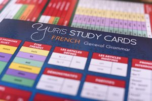 Yuris french study cards