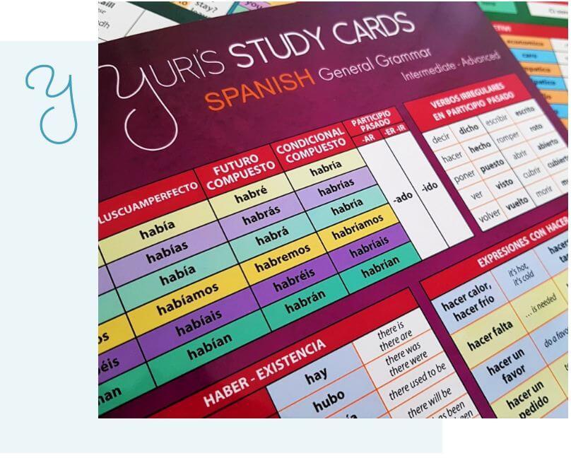 yuris study cards